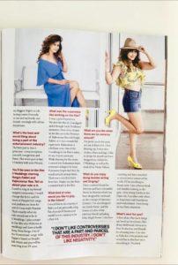 Saru Maini article on Femina Magazine