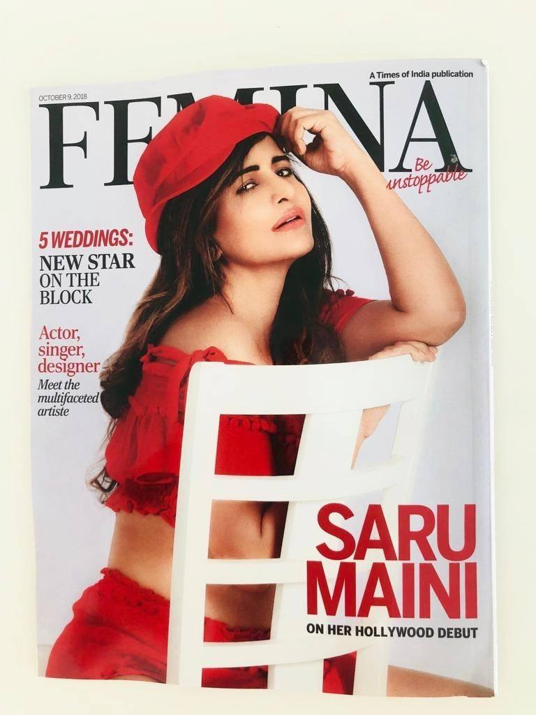 Saru maini Femina Magazine